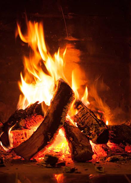 Die brennende Feuer – Foto
