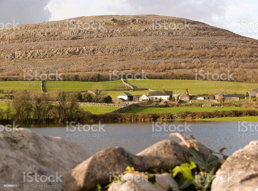The Burren in Ireland royalty-free stock photo