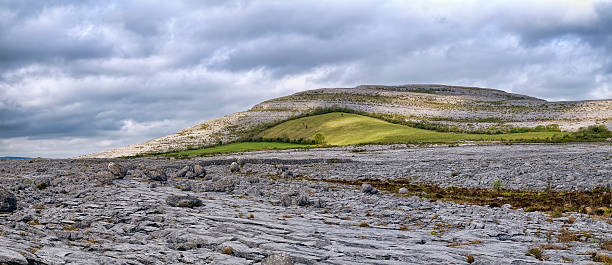 the burren is a karst-landscape region - the burren stock pictures, royalty-free photos & images