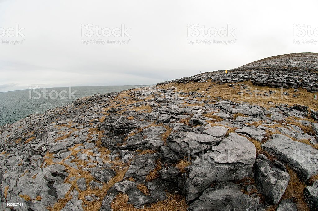 The Burren Landscape, Co. Clare - Ireland royalty-free stock photo