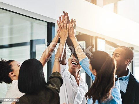 938516440 istock photo The business group that defines team solidarity 938516466