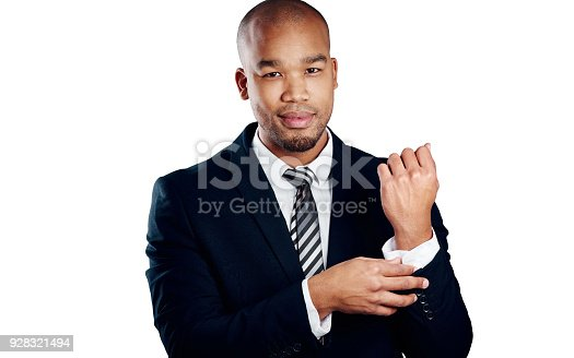 istock The business world suits him 928321494