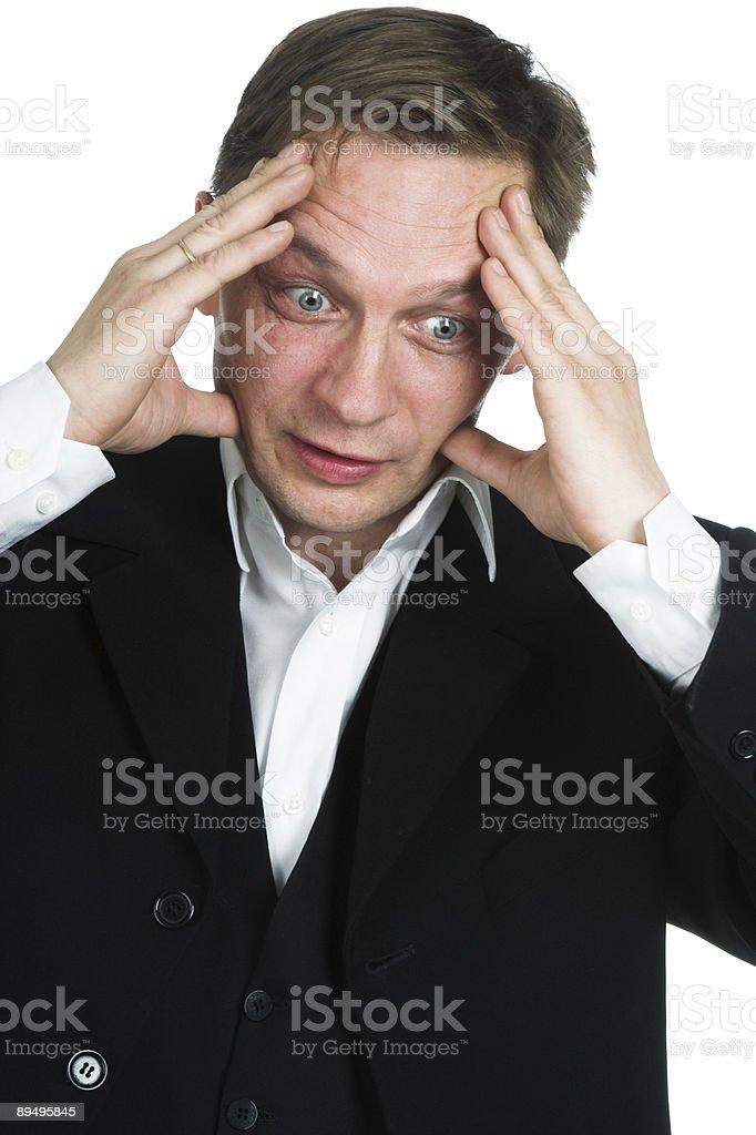 The businessman royaltyfri bildbanksbilder