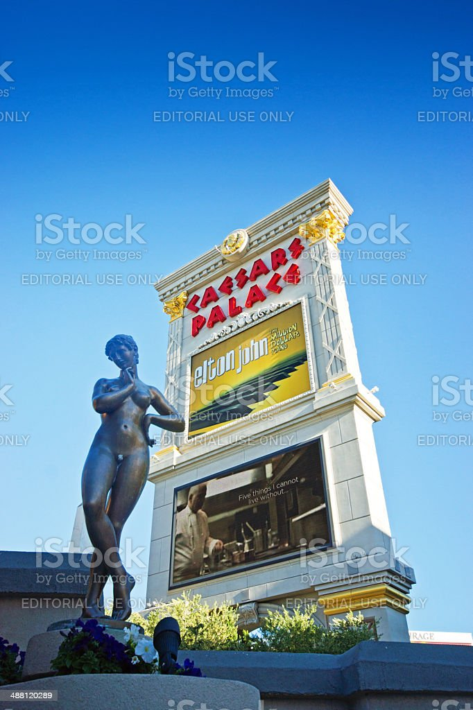 The Caesars Palace hotel and casino stock photo