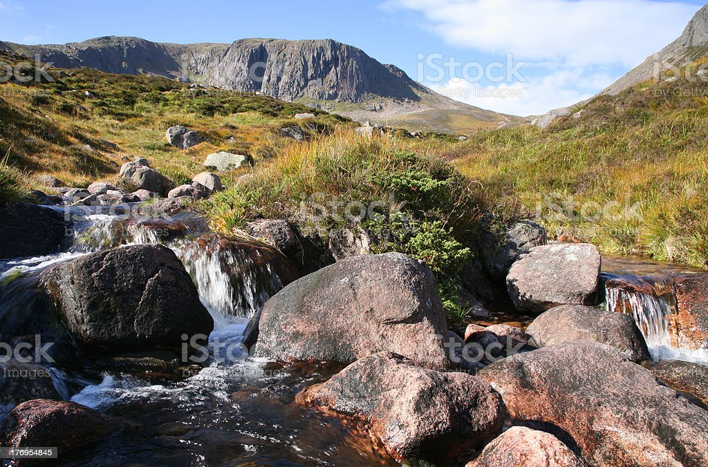The Cairngorms stock photo