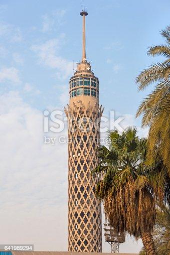 istock The Cairo Tower, Borg Al-Qāhira 641989294