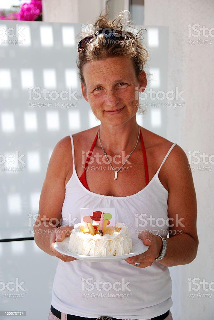 the cake stock photo