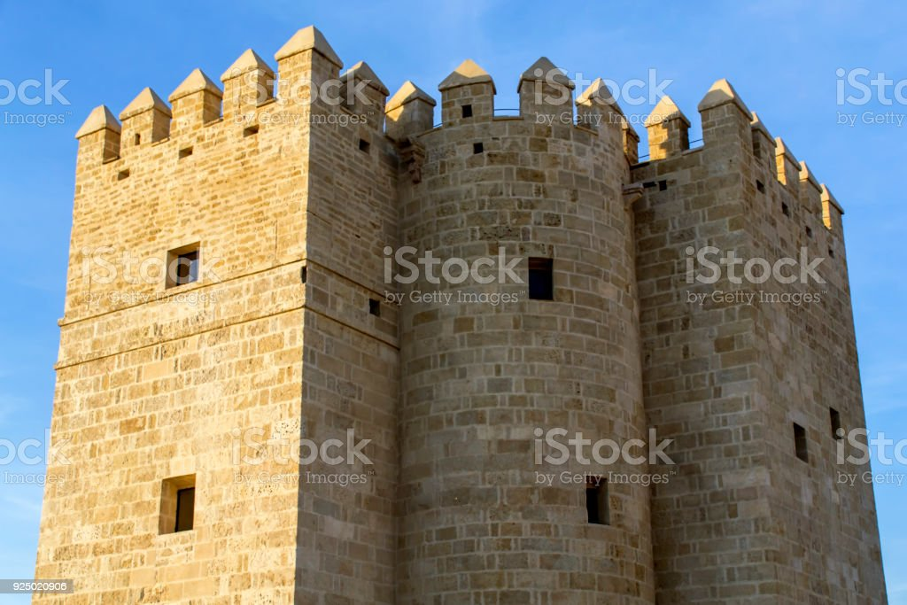 The Calahorra Tower stock photo