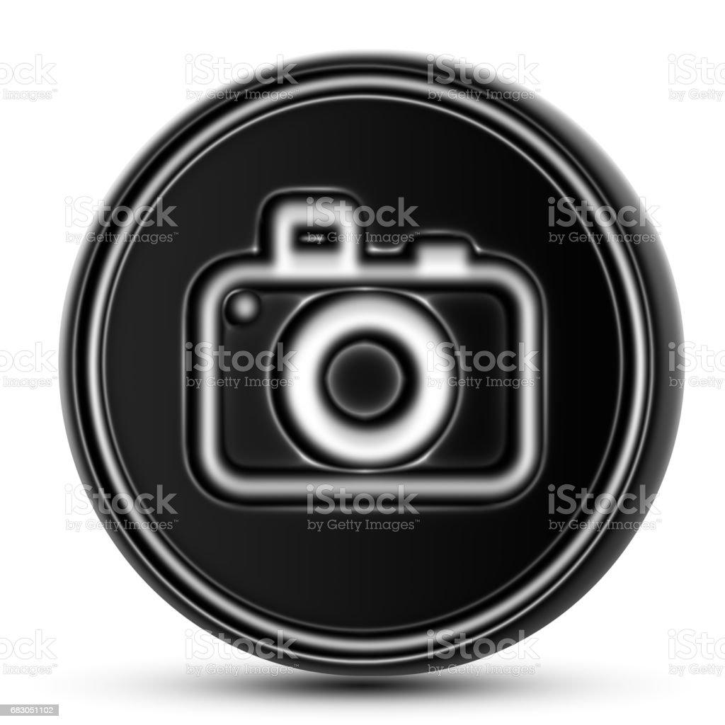 The Camera Icon foto de stock royalty-free
