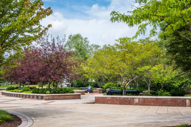 The Campus of Bloomsburg University stock photo