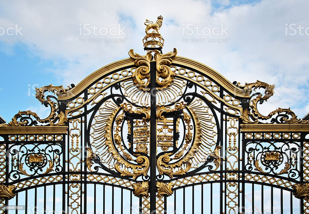 The Canada Gate at Green Park in London stock photo