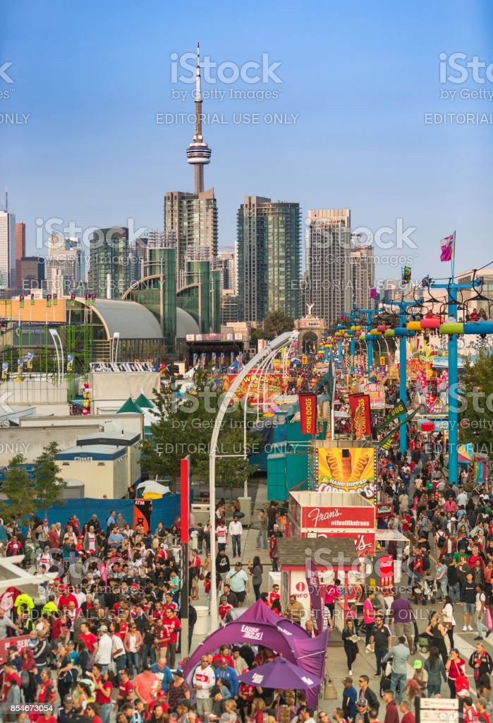 The Canadian National Exhibition (CNE) in Toronto, Ontario, Canada stock photo