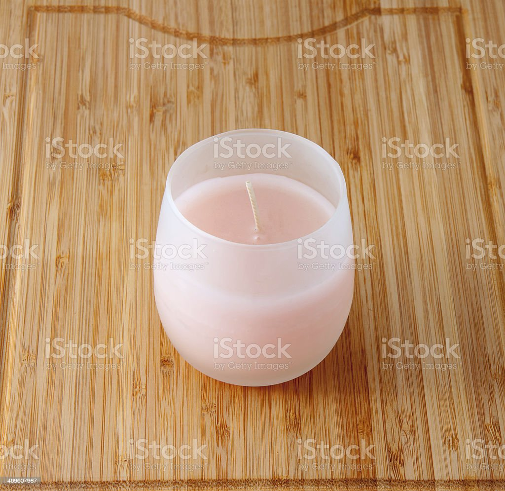 The candle royalty-free stock photo