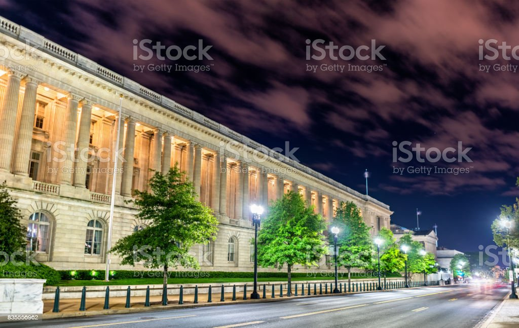 The Cannon House Office Building, a Beaux-Arts style building in Washington, D.C. Built in 1908 stock photo