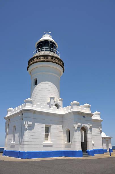 The Cape Byron Lighthouse, Australia stock photo