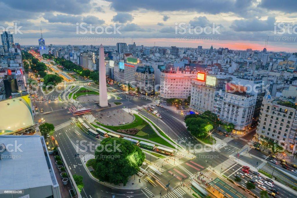 Die Hauptstadt von Buenos Aires in Argentinien – Foto