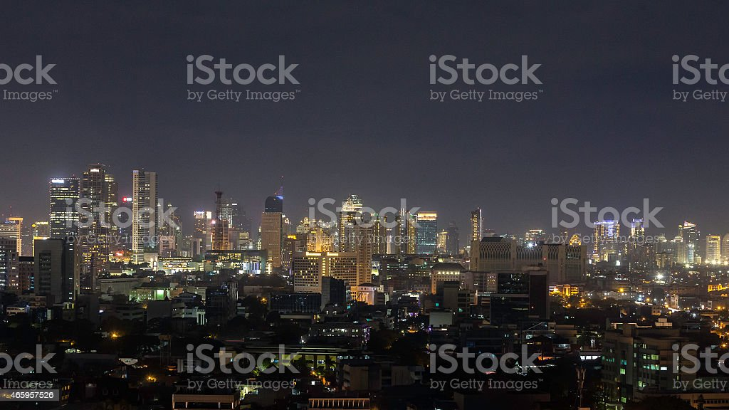 The capital city of Jakarta, Indonesia stock photo
