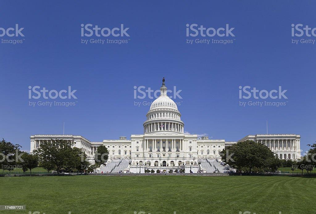 The Capitol Building - Seat of United States Senate (XXL) stock photo