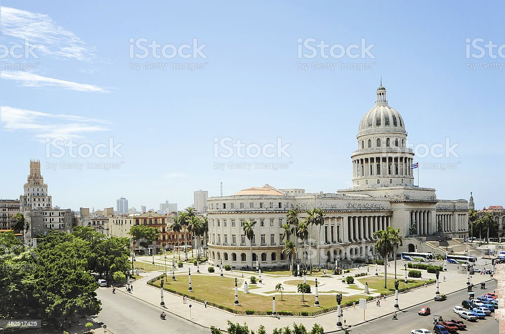 The Capitol in Havana, Cuba royalty-free stock photo