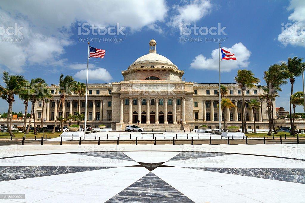 The Capitol of Puerto Rico stock photo