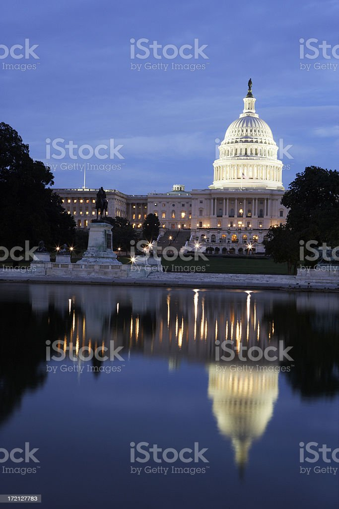 The Capitol royalty-free stock photo