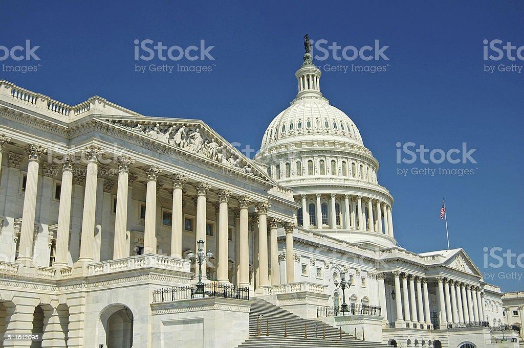 The Capitol, Washington stock photo