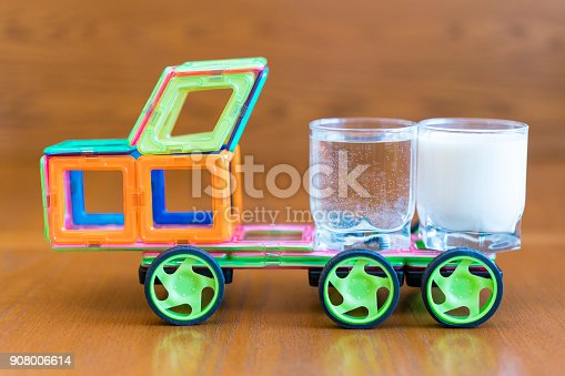istock the car carries water and milk 908006614