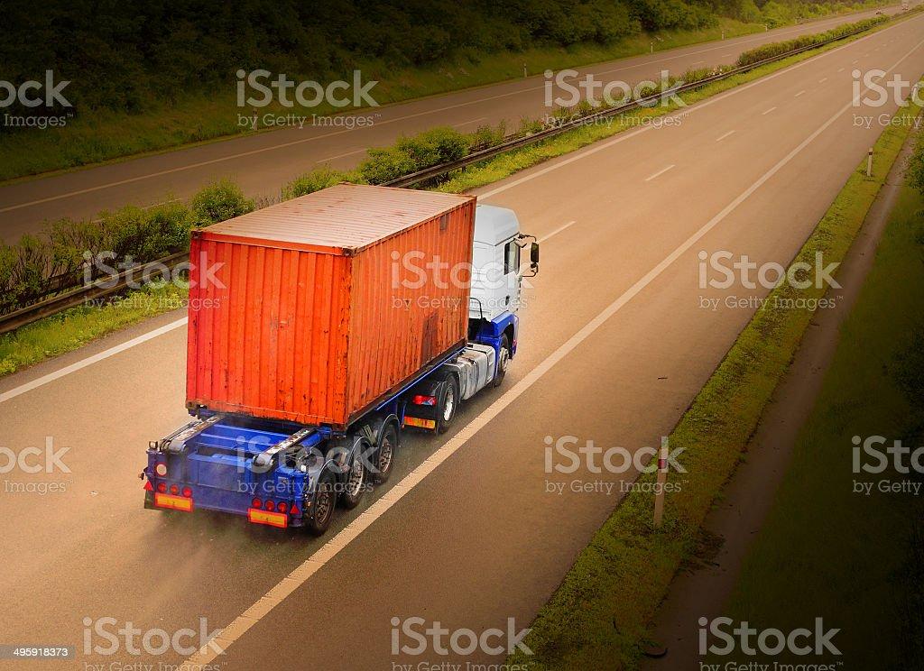 The Cargo. stock photo