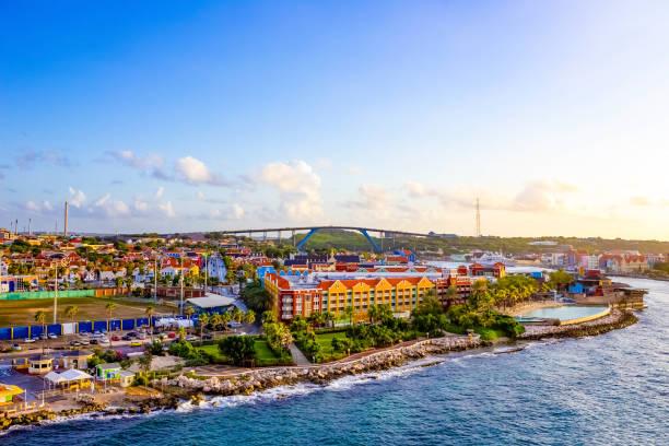Die Karibik. Die Insel Curacao. Curacao ist ein tropisches Paradies auf den Antillen in der Karibik – Foto