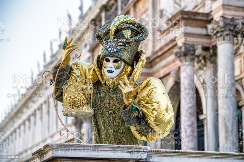The Carnival of Venice 2018 stock photo