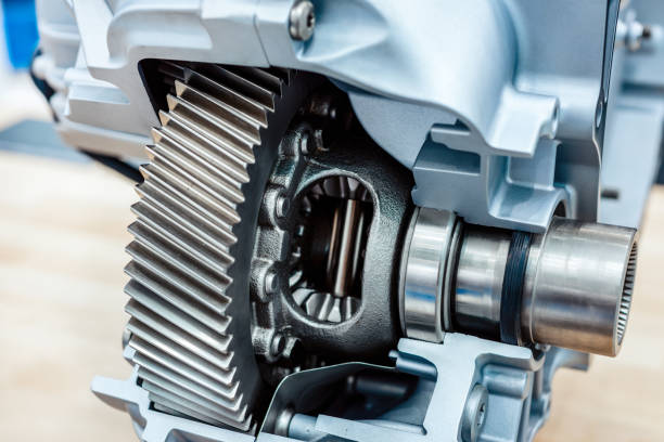 The car's differential stock photo