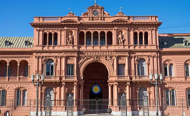 Das Casa Rosada in Buenos Aires – Foto