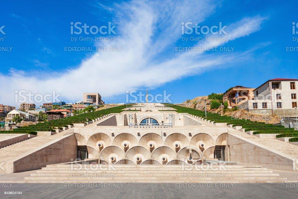 The Cascade, Yerevan stock photo