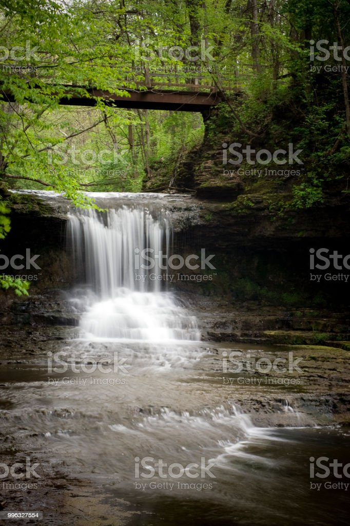 The Cascades stock photo