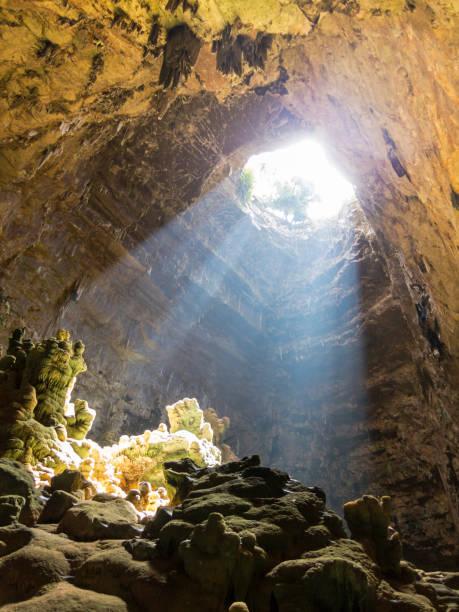 카 스텔라 나 동굴, 그로 테 디 카 스텔라 나 - 카르스트 지형 뉴스 사진 이미지