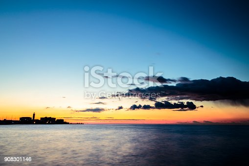 istock The castle and the lighthouse of Trieste 908301146