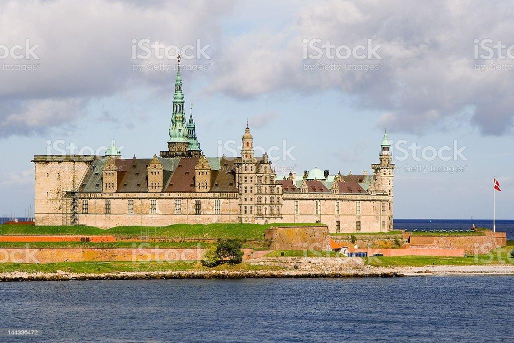 The Castle Kronborg stock photo