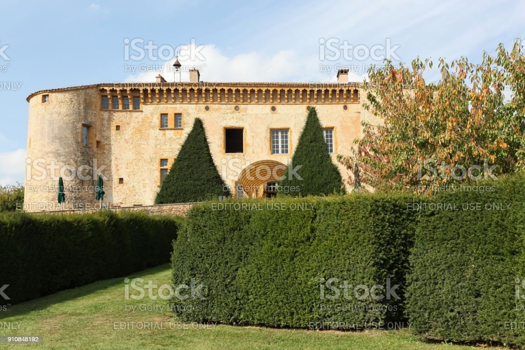 The castle of Bagnols in Beaujolais, France