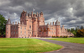 The Castle of Glamis is the typical Scottish castle, stately, full of turrets and battlements, was the legendary stage of Shakespeare's Macbeth and is open to the public