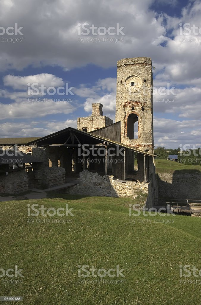 The Castle royalty-free stock photo