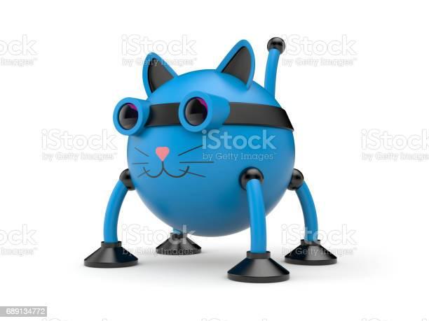 The cat robot 3d illustration picture id689134772?b=1&k=6&m=689134772&s=612x612&h=ni8hk7aakdo7par qyuvil29lfchxyrp8nquagnoask=
