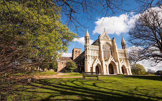 Die Kathedrale &  Abbey Kirche Saint-Alban, St.. Albans, UK – Foto
