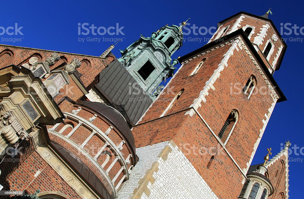 The Cathedral Basilica of St Stanislaw Vaclav - Royalty-free 2015 Stock Photo