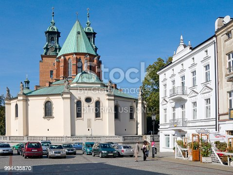 istock The Cathedral Basilica of the Assumption of the Blessed Virgin Mary and St. Adalbert. Gniezno, Poland. 994435870