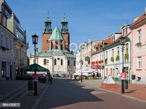 istock The Cathedral Basilica of the Assumption of the Blessed Virgin Mary and St. Adalbert. Gniezno, Poland. 994435872