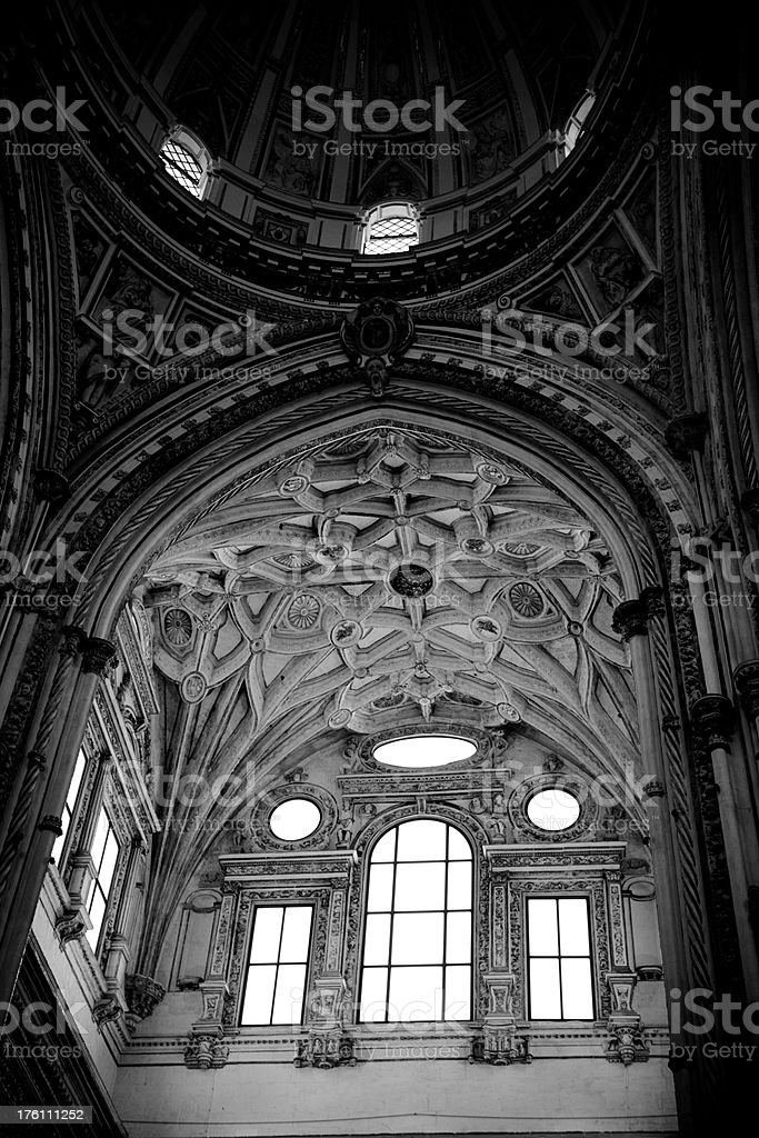 The Cathedral, Cordoba - Spain royalty-free stock photo
