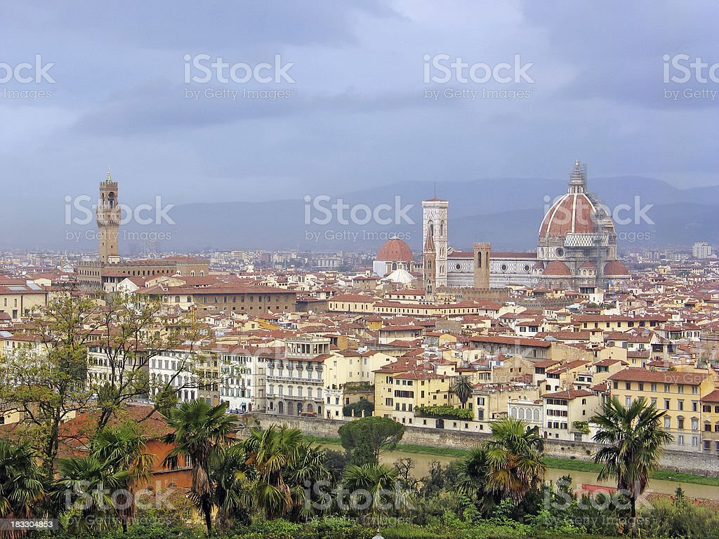 il Duomo in Florence royalty-free stock photo