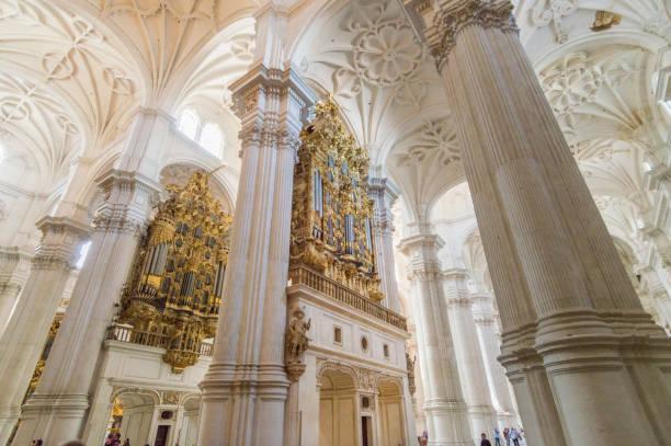 katedralen i granada, spanien - katedral bildbanksfoton och bilder