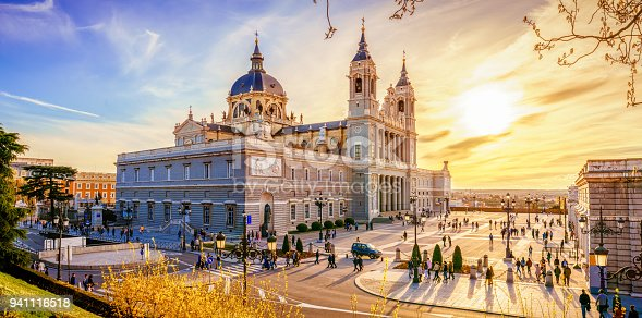 The Almudena Cathedral is the cathedral of Madrid, Spain, and is a modern building concluded in 1993. It is one of the attractions of the city.