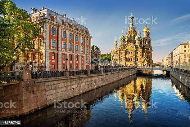 The cathedral of our savior on spilled blood with reflection picture id481780740?b=1&k=6&m=481780740&s=612x612&h=3zp4vtn9rztrvlpm0wze677relizwaafuhe4txrmit4=